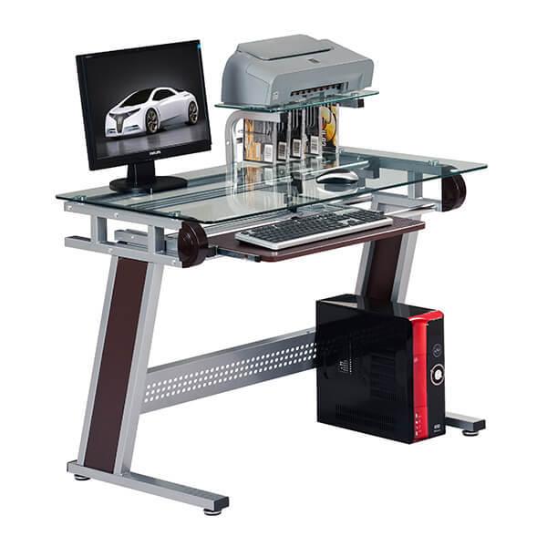 Стеклянный компьютерный стол CH-3015