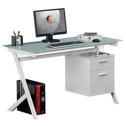 Glass Computer Desk CT-3365C