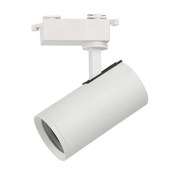 Black / White Track Spotlight and Gu10 Bulb JD-T1105