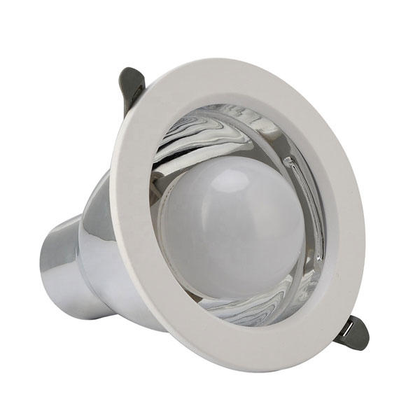Round Aluminum Lamp Cup E27 Led Downlight Fitting