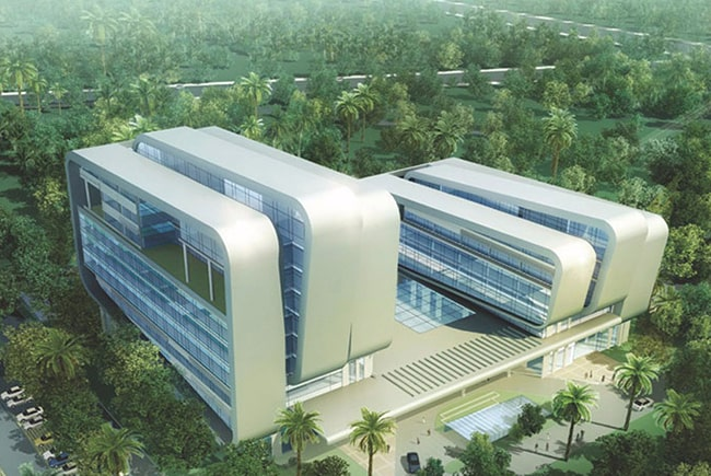 Hainan Provincial People's Hospital New Building