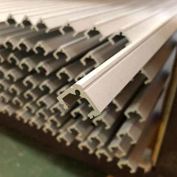 Aluminum channel extrusions