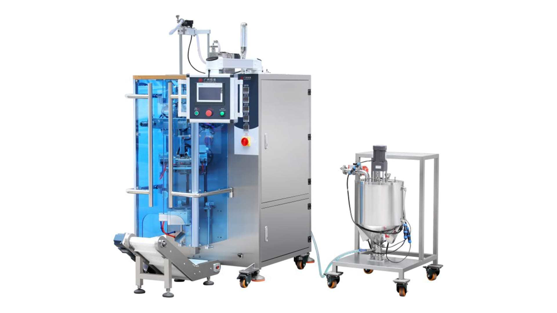 Automatic Sachet Liquid Juice Energy Gel Packing Machine HY-YY50