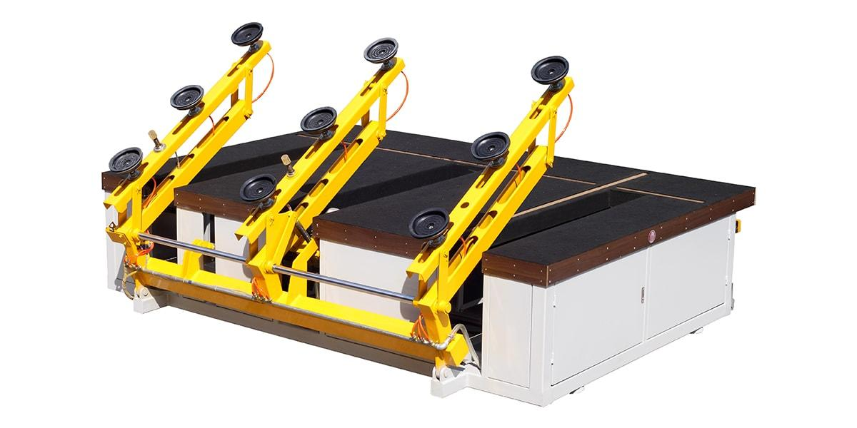 Manual Glass Cutting Table With Automatic Loader