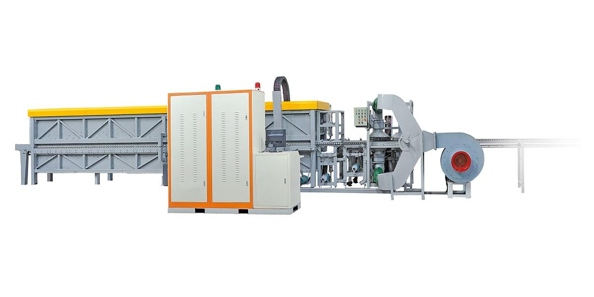 Continuous Glass Pot Cover Tempering Furnace YD-FV-series