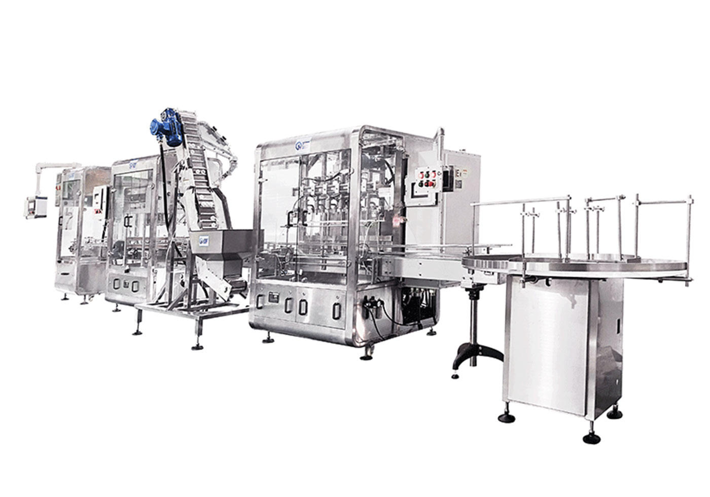 High efficiency Fully automatic extra-diagnostic reagents production line with CE certificate