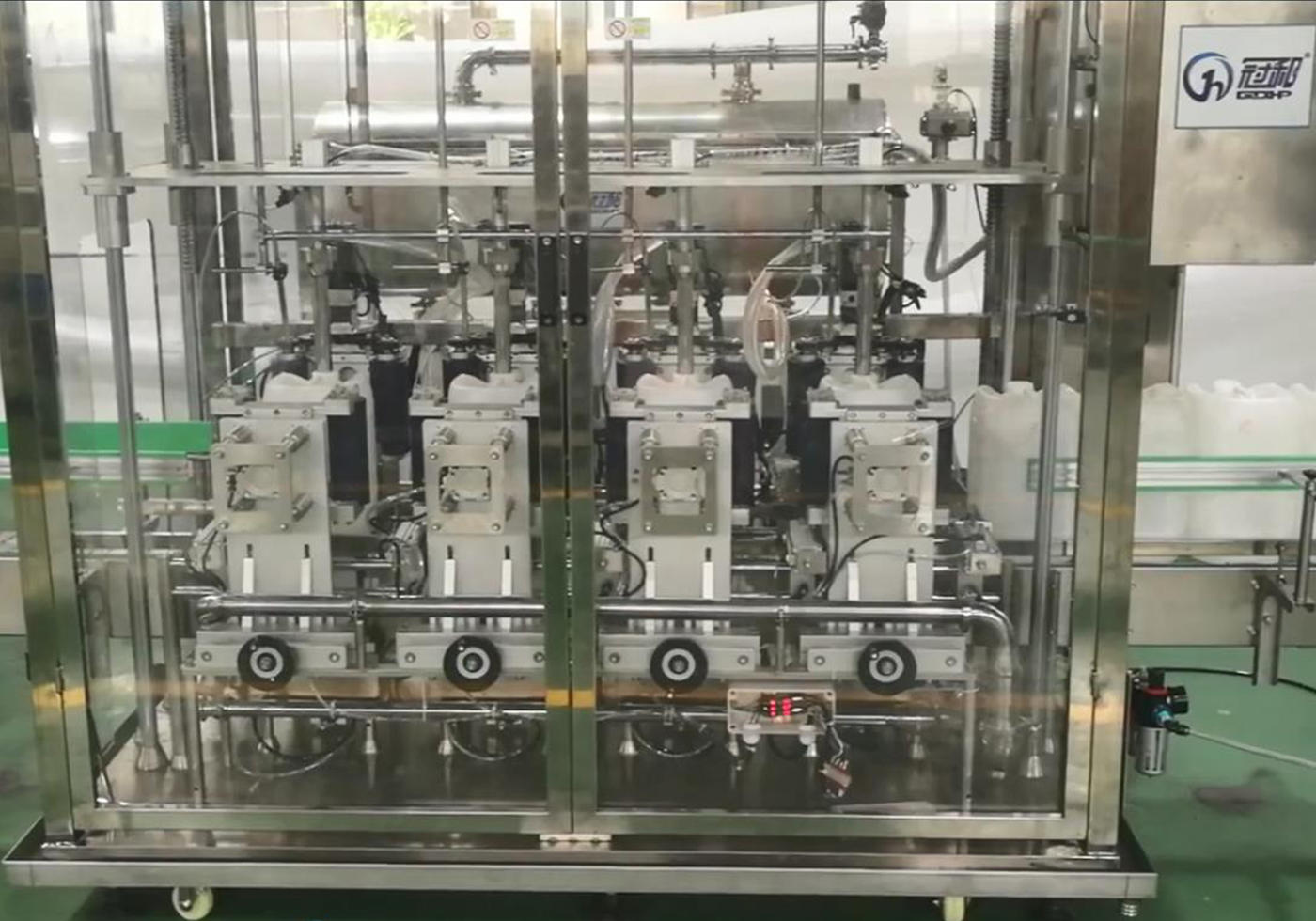 Automatic Bottle Filling Machine With Weighing-Type Filling