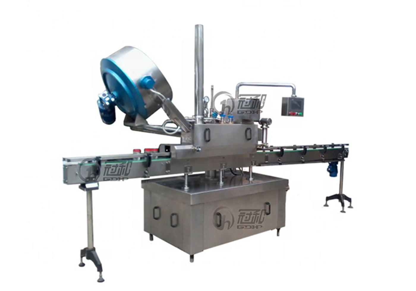 Manufacturer Automatic Screwing Crimping Capping Machine