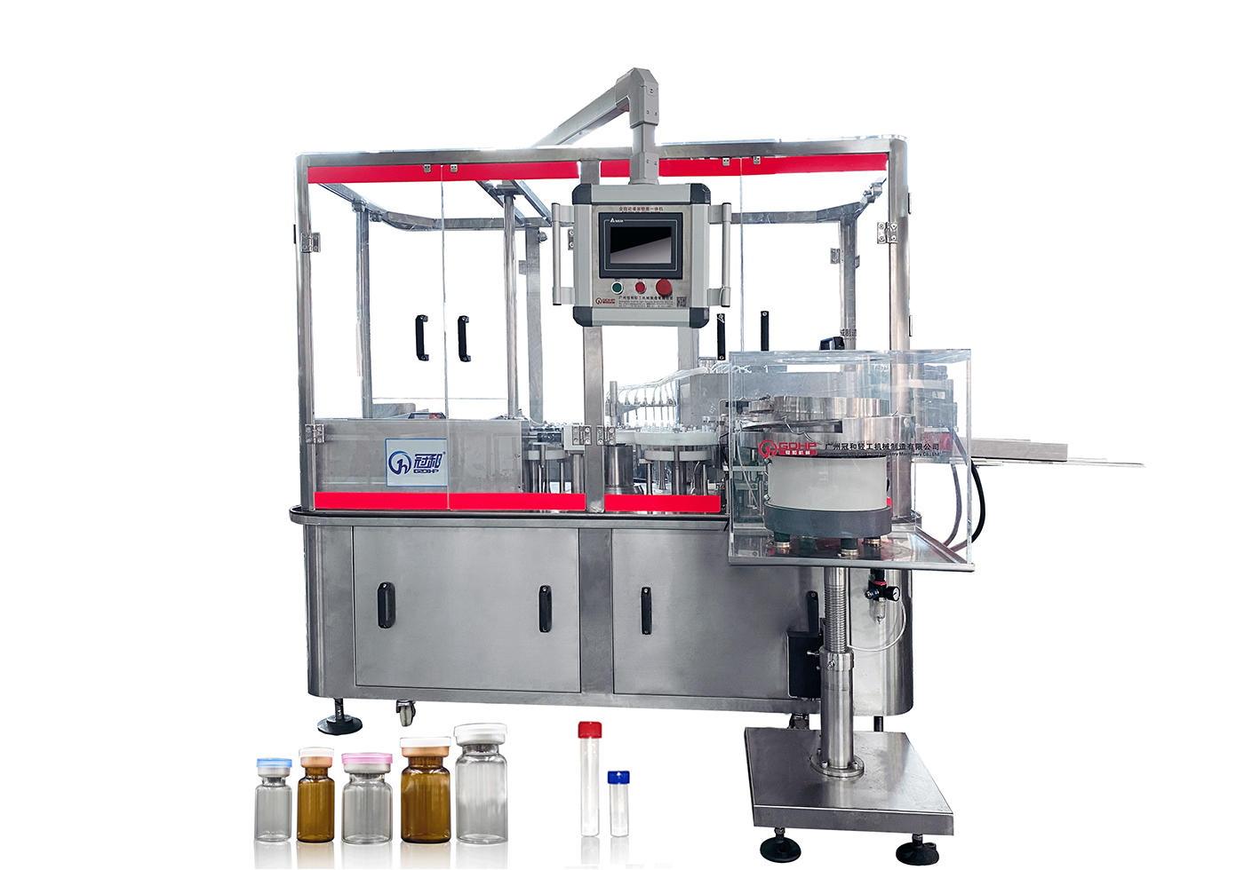 Automatic rotary oil liquid filling capping machine
