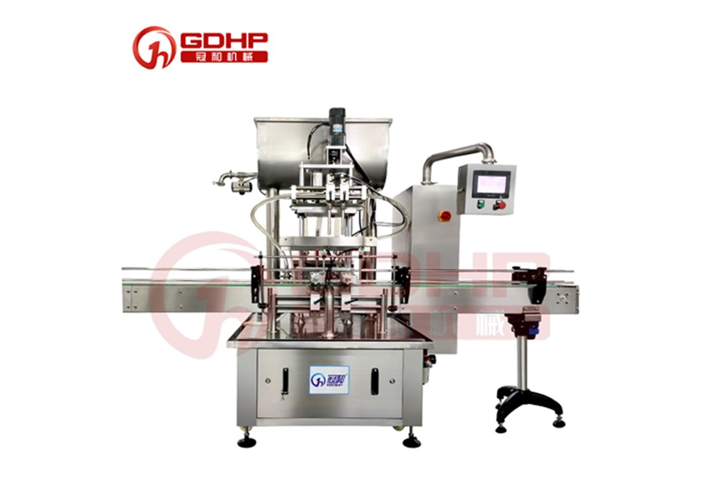 Automatic Double Head Rotor Pump Filling Machine