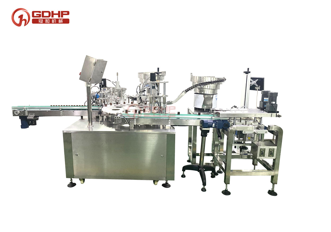 Auto filling-capping machine