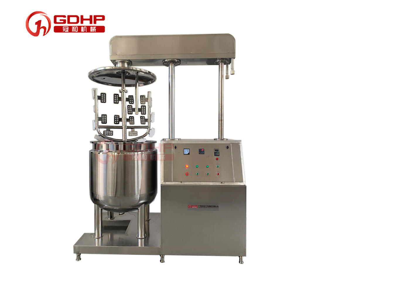 Stainless Steel High Capacity Mixing Tank Liquid Paste Mixing Machine With Agitator